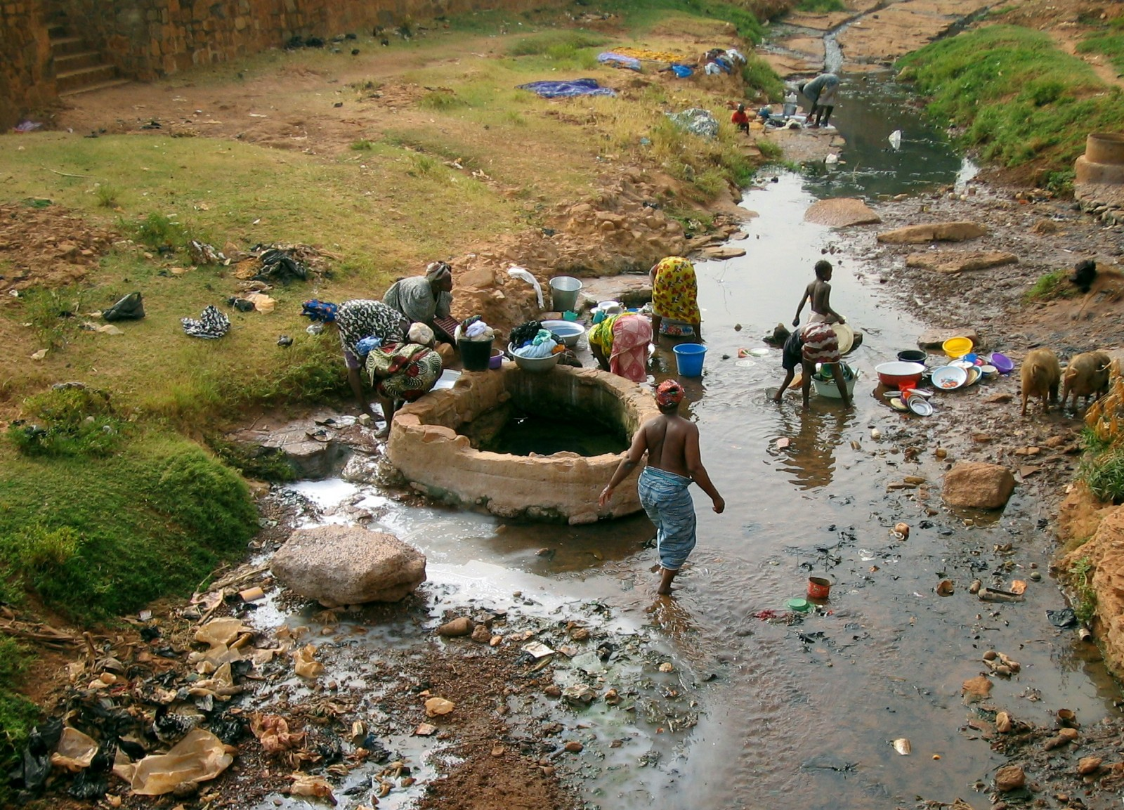 In Burkina Faso, Clean Water Was Scarce. Then the Pandemic Hit. - Circle of Blue