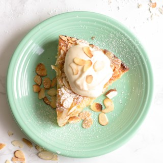 Pear & Almond Cake