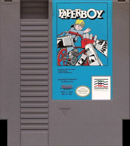 paperboy cartridge
