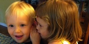 child, circle of hope, toddlers, talking, whispering, communication, Jesus