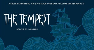 Creating the alternative through art. The Tempest being performed at Circle of Hope. This is the advertisement.
