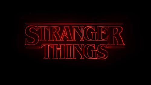 stranger things logo, circle of hope talking about stranger things