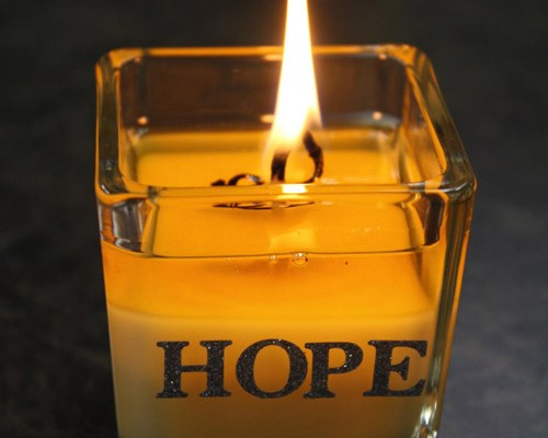 We're lighting a candle in celebration of Circle of Hope's birth of a new congregation.