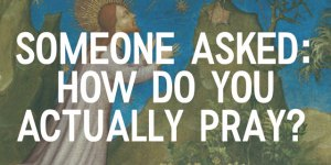 Intro for the YouTube video How do you actually pray, made by Circle of Hope church