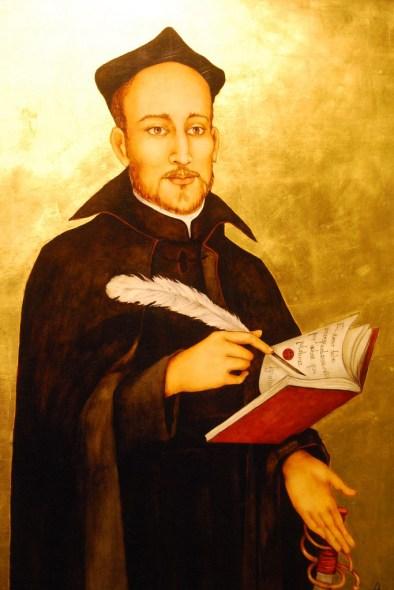 Paintings of Ignatius of Loyola