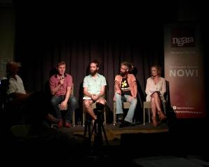 Politics in the Pub panel, Mullumbimby