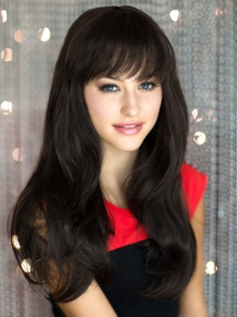 15 Cute Long Hairstyles With Bangs Which Will Make You
