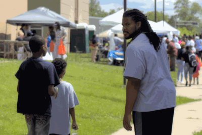 Sheldon Day at the 2017 Peace Festival