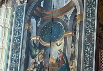 Federico Zuccari, Inferno. Canti XXVI-XXVIII. Consiglieri fraudolenti, Ulisse e Diomede. Firenze, Uffizi, Gabinetto Disegni e Stampe.