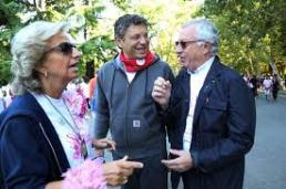 Ancora il Magnifico Rettore e la Prof. Faralli ai Giardini Margherita domenica mattina