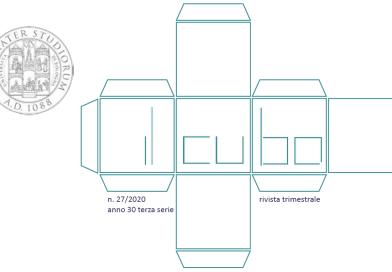 """""""IL Cubo – Note di vita universitaria"""" n. 27 2020"""