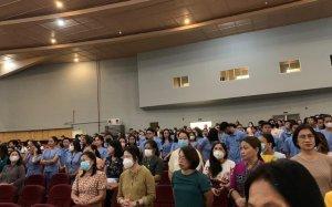 Eugenio Barba, Fabrizio Cruciani ed Eugenia Casini Ropa (Foto da Casini Ropa)