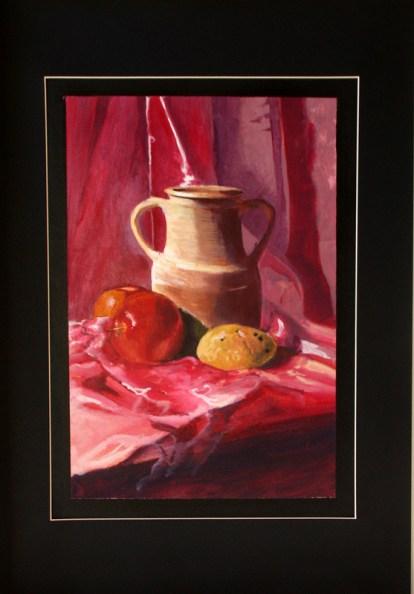 Gaspare Mocci - acrilico su cartone telato cm 35x50