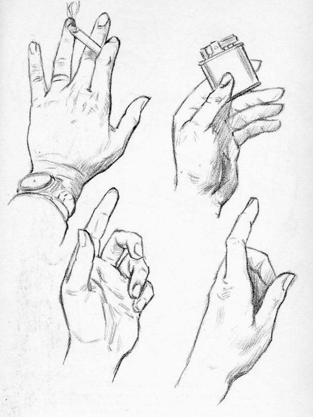 Come Si Disegnano Le Mani Secondo Andrew Loomis Circolo D Arti