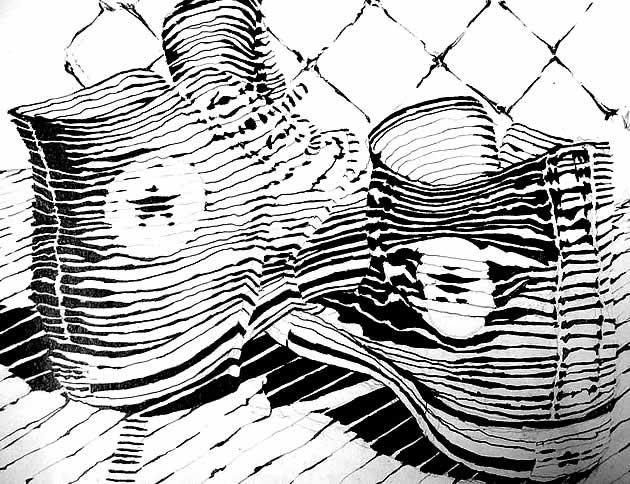 cross-contour-line-drawings