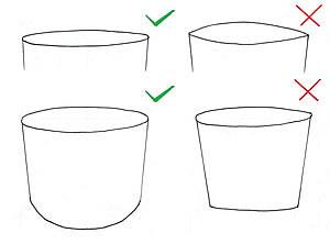 come disegnare una ellisse