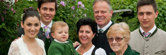 The Tement family: Monika, Armin, Johan, Heidimarie, Manfred, Edina, and Stefan Photo Courtesy Weingut Tement
