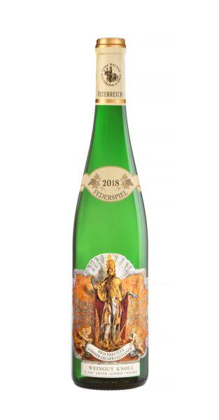 """2018 – Grüner Veltliner """"Kreutles"""" Federspiel Bottle Image"""
