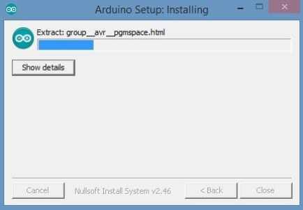 Arduino Setup Installing