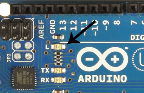 Getting Started with the Arduino - Arduino Uno LED