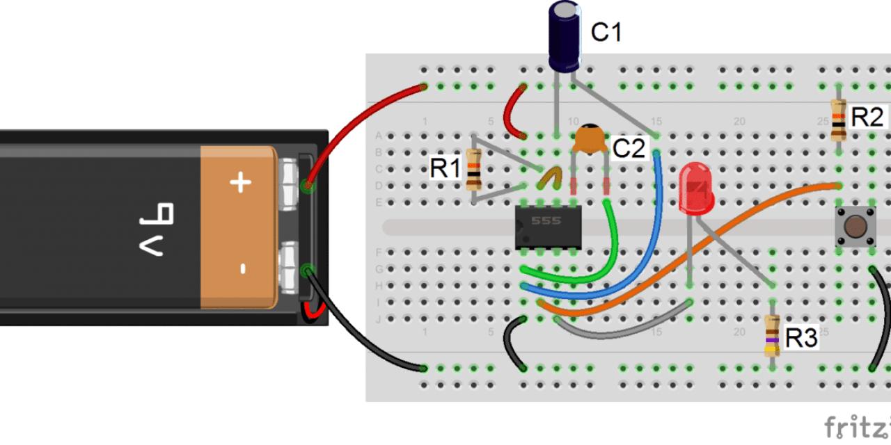 555 Timer Basics – Monostable Mode