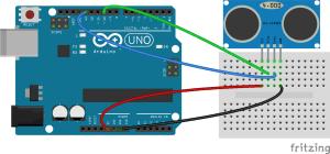 Arduino Ultrasonic Range Finder
