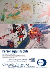 Sandrine Cuzzucoli, Ivan Sghirinzetti