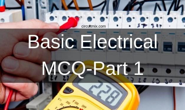 Basic Electrical MCQ- Part 1