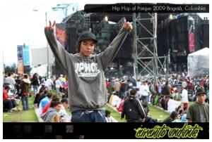 CircuitoAndante en Hip Hop al Parque, Bogotá, Colombia, 2009