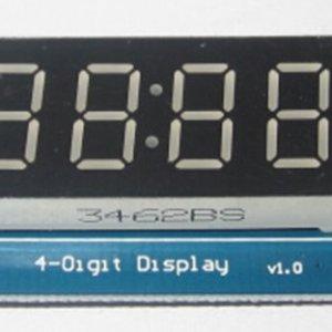 4 Bits Digitale Tube LED Modulo With Clock Display per Arduino