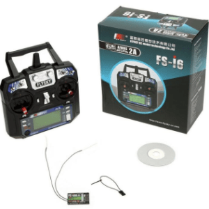 Flysky FS-I6 Transmitter with IA6 Receiver, 2.4Ghz Radio system Mode 2 Left hand throttle