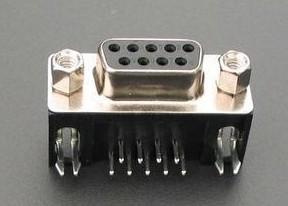 3 Pezzi DR9 hole black RS232 Seriale , clubfoot hole short-D Connettore