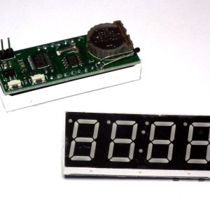 Modulo Orologio RTC Elettronico Digitale DS1302 4bit 0.56 pollici display Rosso per Arduino