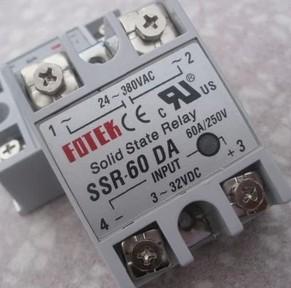 SSR Single Phase SSR-60LA stato solido è