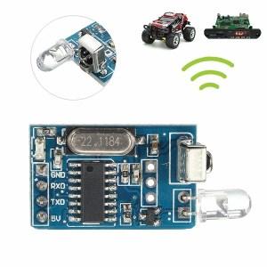 Infrarossi Modulo trasmettitore e ricevitore NEC IR codifica decoder a distanza