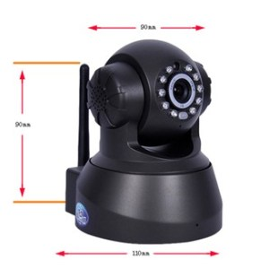 Wireless IP Network Camera TF card memory P2P WIFI