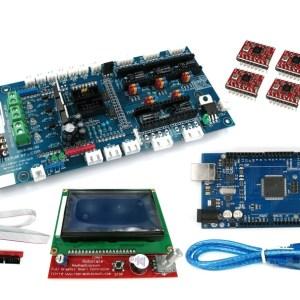 H038 Ultimaker1.57 + Mega 2560 + 5 Pezzi A4988 + 2004 LCD Controller per Stampante 3D RepRap