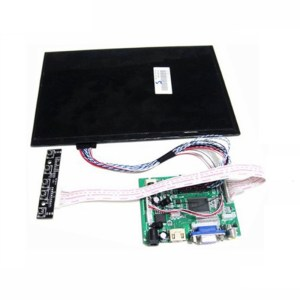 10.1 Inch 40pins 1280(RGB)*800 TFT EJ101IA-01G LCD Schermo Display With Remote Driver Control Board 2AV HDMI VGA