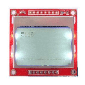 Nokia 5110 LCD Red