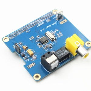 HIFI DiGi Digital Sound Card I2S SPDIF expansion board Digital Chip for Raspberry Pi 2/B+/A+ support Raspberry pi 3