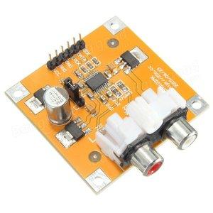 DC 5V-10V I2S Player 32 Bit 384K PCM5102A DAC Decoder Board