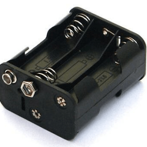 6AA 9V contenitore batterie