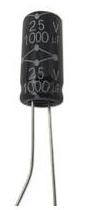 10 Pezzi MCGPR35V106M5X11 Condensatore Elettrolitico, Serie GPR, 10 µF, ± 20%, 35 V, 5 mm, Conduttori Radiali 10uf 25v