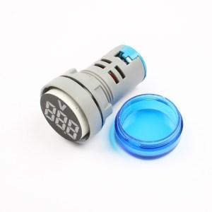 AC 24 - 500V Voltmetro da Pannello AD 101 22VM BLU