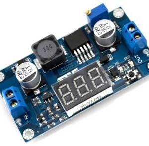 Voltmetro a LED dell'alimentazione del modulo Step-up boost da DC 4.3-32V a 5-52V 5-600V