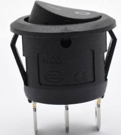 2 interruttori a bilanciere a 3 pin SPST on on off button KCD1-105 Switch