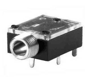 4 pezzi PJ324M Presa audio da 3,5 mm