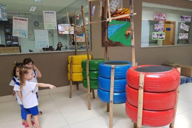 Escola cria projeto de Educação Ambiental voltado para o descarte correto de lixo