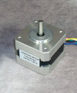 generate power with a stepper motor