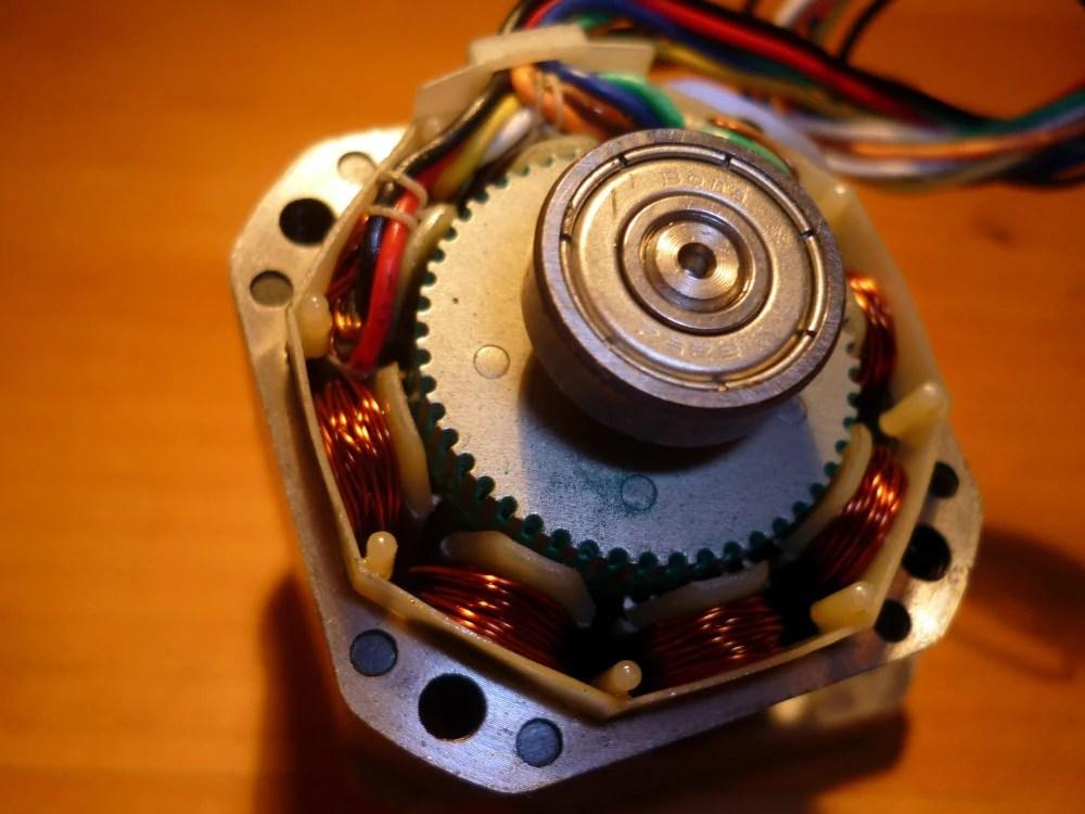 Unipolar stepper motor vs bipolar stepper motors for Stepper motor vs servo